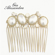 Gia Alessandra hair ornaments GA218