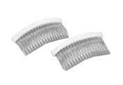 Darice VL5628, Fab Edge Haircomb Plastic 10.2cm , 2-Piece