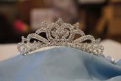(BIG)Elegant Bridal Wedding Tiara Crown with Crystal Party Accessories C5723A