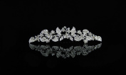 Bridal Wedding Prom Bridesmaids. Crystal Tiara Jewellery Comb Headpiece