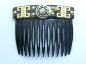 Charles J. Wahba Garnished Side Comb