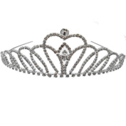 Acosta Jewellery - Silver Diamante Crystal - Bridal Tiara