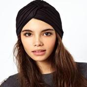 Head Turban Wrap, Black