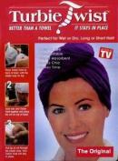 Turbie Twist Microfiber Super Absorbent Hair Towel (2 Pack) Pink-White