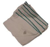 Barber Towel 770ml White With Green Stripe (1) Dozen