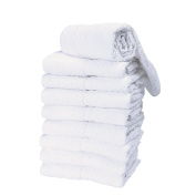 Salon Care Premium White Salon Towels