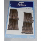 Expressions Classic Bobby Pins 100 Count