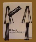 Morris Flamingo Roller Pins Jumbo Brown 20 Per Card