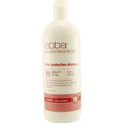 Pure Colour Protect Shampoo by Abba for Unisex Shampoo, 1000ml