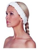 Scalpmaster Elasticized Spa Headband / White