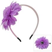 Lavender Daisy Flower Headband
