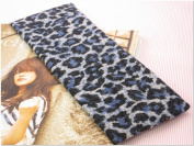 Blue Leopard Animal Print Stretchy Hair Band for Women or Girl Fashion Accessories