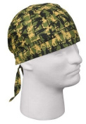 5109 Headwrap - Olive Drab With Army Man Camo