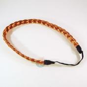 Hair Braids Braided Headband Fashion Plaits Hairband Bands - Golden Blond