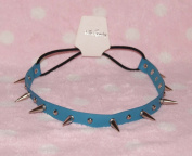 Blue-cool Stud Spike Rivet Bracelet/necklace/headband with Mult-function