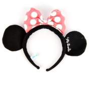 Minnie Mouse Costume Dress-Up Ears Headband Pink