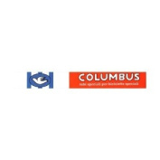 Pace Clothing Headband Columbus Logo Red/White/Blue