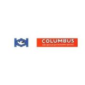 Pace Clothing Headband Columbus Logo Red/White/Blue