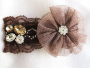 New Barrette Brown Hair Clip