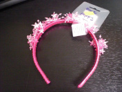 HOT PINK METALLIC STAR HEAD BAND
