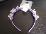 PURPLE METALLIC STAR HEAD BAND