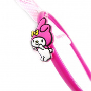 """Headband child """"My Melody"""" pink fuchsia."""