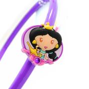"""Headband child """"Princess Jewels"""" purple."""