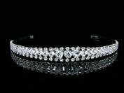 Bridal Rhinestone Crystal Prom Wedding Tiara Headband