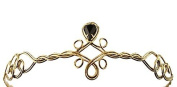 Antique Gold Adjustable Circlet