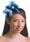 BLUE/WHITE HEADBAND,19.1cm