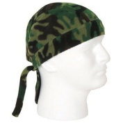 Woodland Camouflage Fleece Headwrap