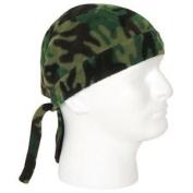Woodland Camouflage Fleece Headwrap