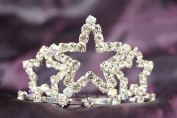 Beautiful Bridal Wedding Tiara Crown With Crystal Star Party Acessories DH15722c