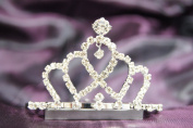 Beautiful Bridal Wedding Tiara Crown With Leaf Crystal Party Accessories DH14857
