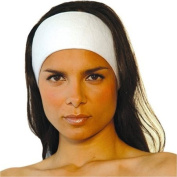 Stretch Terry Spa Headband with hook and loop 4 Count/AH1003x4)