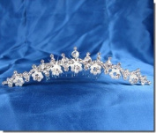 SC Bridal headpieces With Crystal Flowers 23715