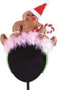 Gallerie II Holiday Gingerbread Headband Hat
