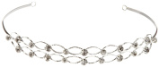 Wilton 1006-0559 Double Row Rhinestone Headpiece