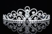 Bridal Pageant Rhinestones Crystal Wedding Tiara Crown