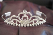 Beautiful Bridal Wedding Tiara Crown with Crystal Party Accessories C19758