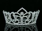 Bridal Wedding Prom Pageant Rhinestone Crystal Full Tiara Crown