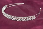 . Crystal Wedding Bridal Prom Party Bridesmaids Princess Tiara Headband