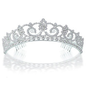 Bling Jewellery Kate Middleton Inspired Royal Bridal Tiara Halo