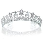 Bling Jewellery Kate Middleton Inspired Royal Bridal Tiara Halo