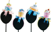 PARTY CAKE HEADBAND, Assorted 4, 9-25.4cm