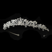 Aisha. Crystal & Rhinestone Wedding Bridal Tiara Headband