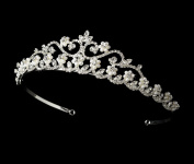 Genesis Pearl and Rhinestone Wedding Bridal Tiara