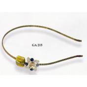 Hand made metal crystal & jewels GA215