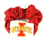 Iowa State Red Hair Scrunchie - Hair Twist - Ponytail Holder