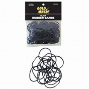 Gold Magic Rubber Bands Black